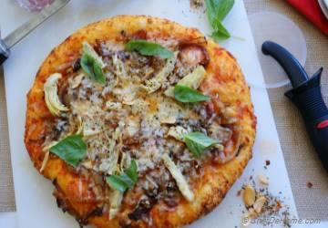 Made From Scratch Caramelized Onion Pizza