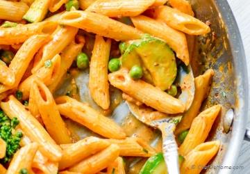 Spicy Chicken Chipotle Cream Sauce Pasta