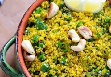 Curry Lemon Quinoa (Rice)