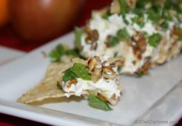 Date-Walnut Cream Cheese Dip