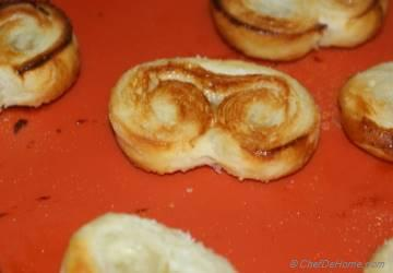French Palmiers (Elephant Ears) Cookies