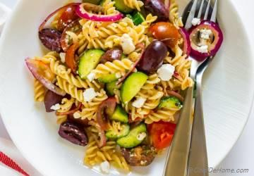 Ultimate Greek Pasta Salad