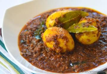 Andhra-Style Spicy Egg Curry