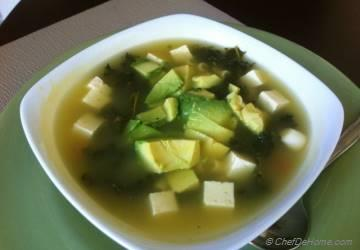 Kale Soup with Tofu
