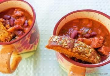 Vegetarian Sausage Chili