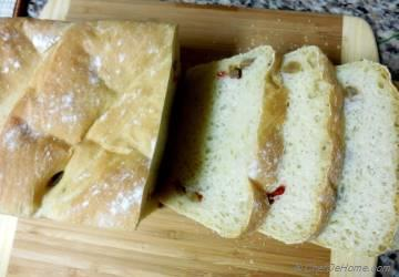 Country Style Olives White Bread