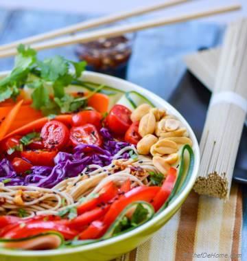 Asian Vegetarian Banh Mi Salad