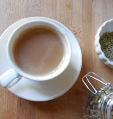 Cardamom and Fennel Tea