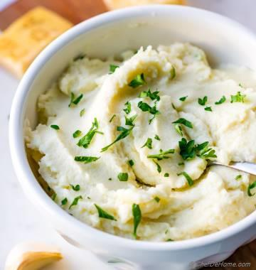 Instant Mashed Cauliflower
