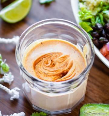 5 Minutes Chipotle Burrito Sauce