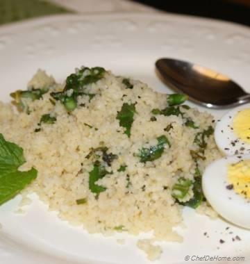 Couscous with Asparagus and Lemon