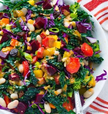 Rainbow Garden Quinoa Salad