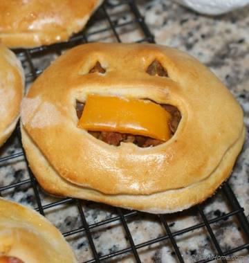 Jack-o-Lantern Halloween Pockets