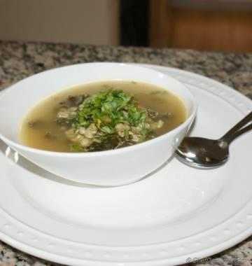 Kale and Barley Soup