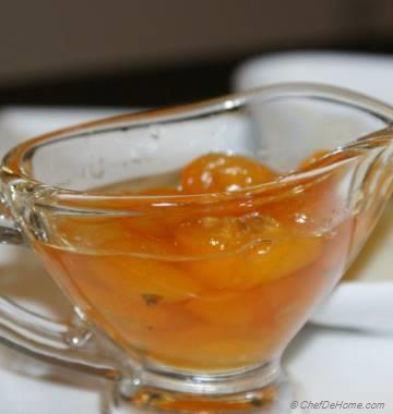 Candied Kumquat in Kumquat Syrup