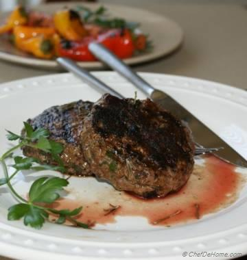 World's Easiest Grilled Lamb Burger