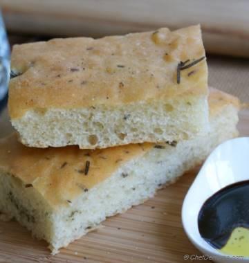 Party Friendly Rosemary Focaccia Bread Bake