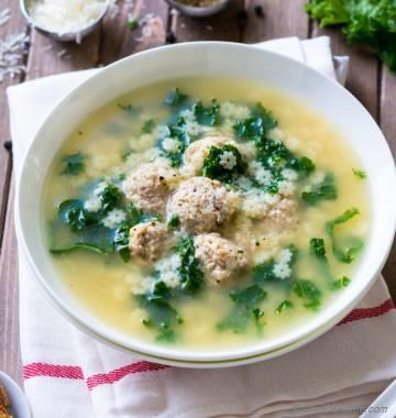 One Pot Italian Wedding Soup
