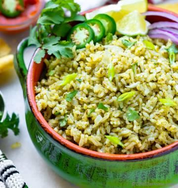 Instant Pot Mexican Green Rice