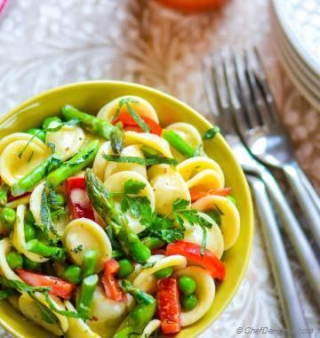 Lemon-Herb Pasta Primavera