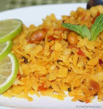 Poha - Rice Flakes Snack