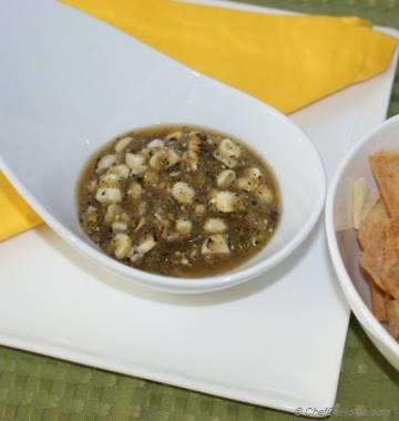 Roasted Corn and Tomatillo Salsa