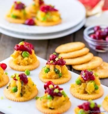 RITZ Crackers Samosa Bites