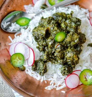 Nutri Palak - Soya Chunks Spinach Curry
