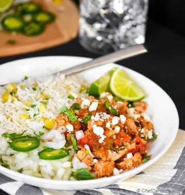 ... Mint Salsa Slow Cooker Mexican Chicken Tinga Easy Chicken Cacciatore