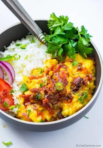 Spicy Vegan Lentil Curry