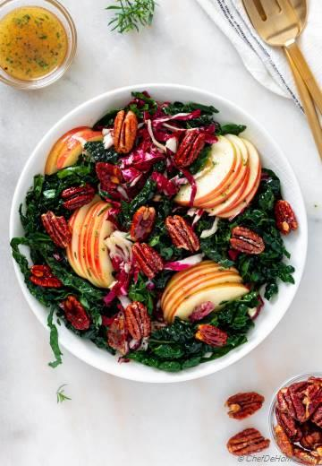 Apple Kale Salad