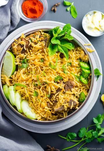 Lamb Curry Rice (Instant Pot, Pressure Cooker)