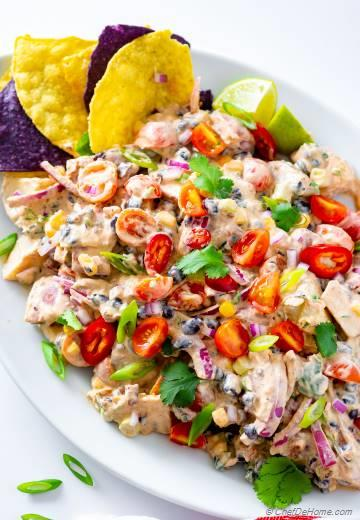 Loaded Potato Salad with Best Ever Potato Salad Dressing