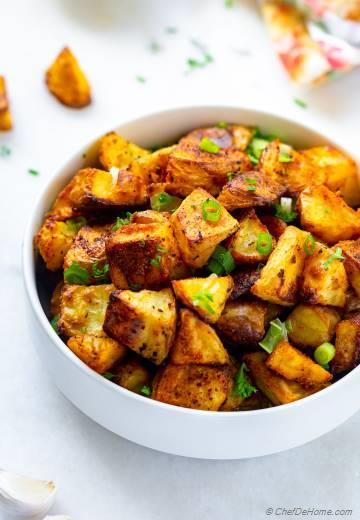 Crispy Baked Ranch Potato