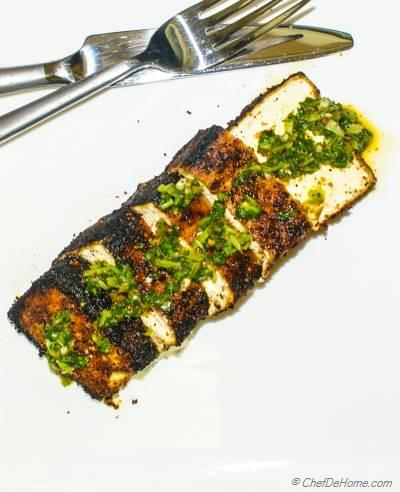 Smoked Paprika Rubbed Grilled Tofu