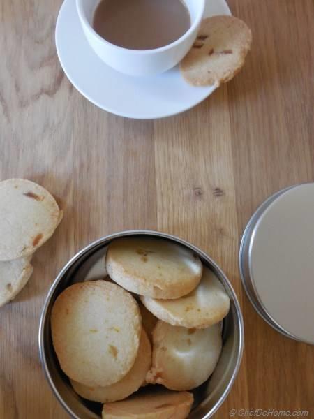 Crystal Ginger Sugar Cookies