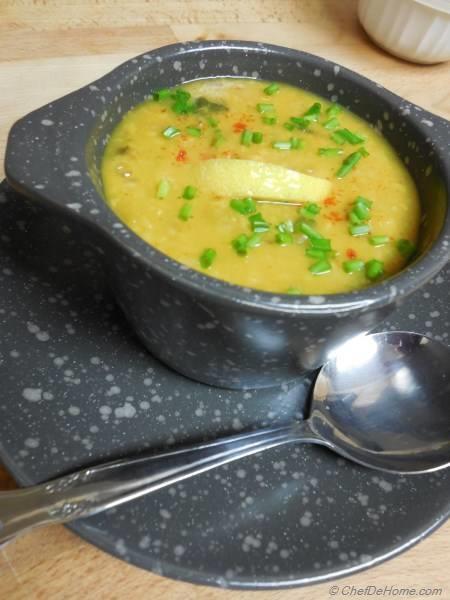 Yellow Lentils Soup