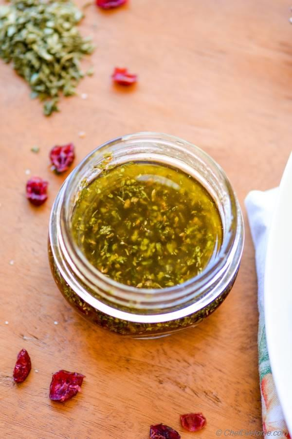 White Balsamic and Herb Dressing - Boudin Bakery Copycat