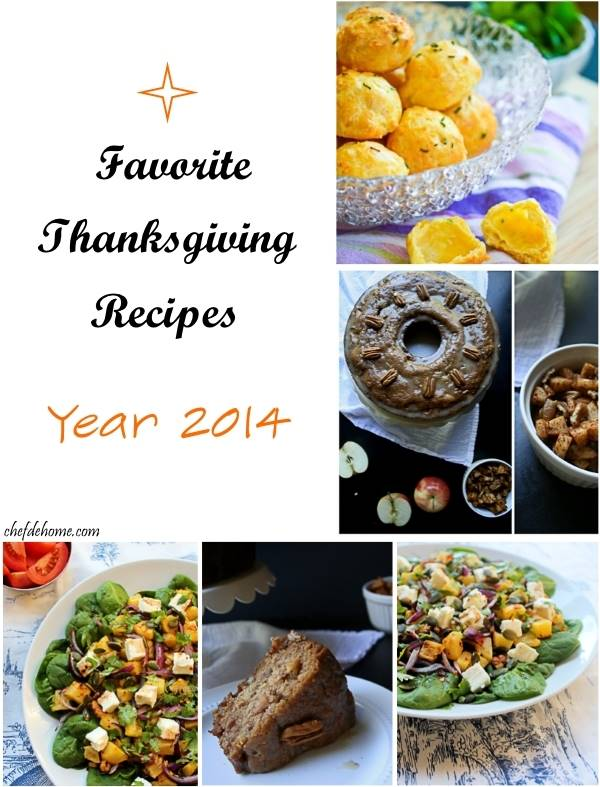 Some of my Favorite Thanksgiving Recipes This Year