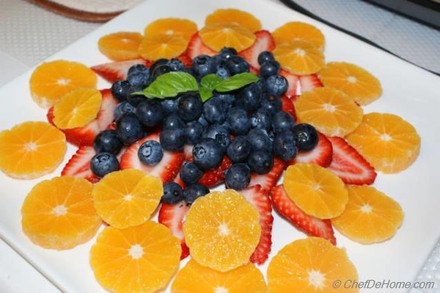 Fruit Salad Recipe, Mixed Berry and Banana Fruit Salad | SimplyRecipes ...