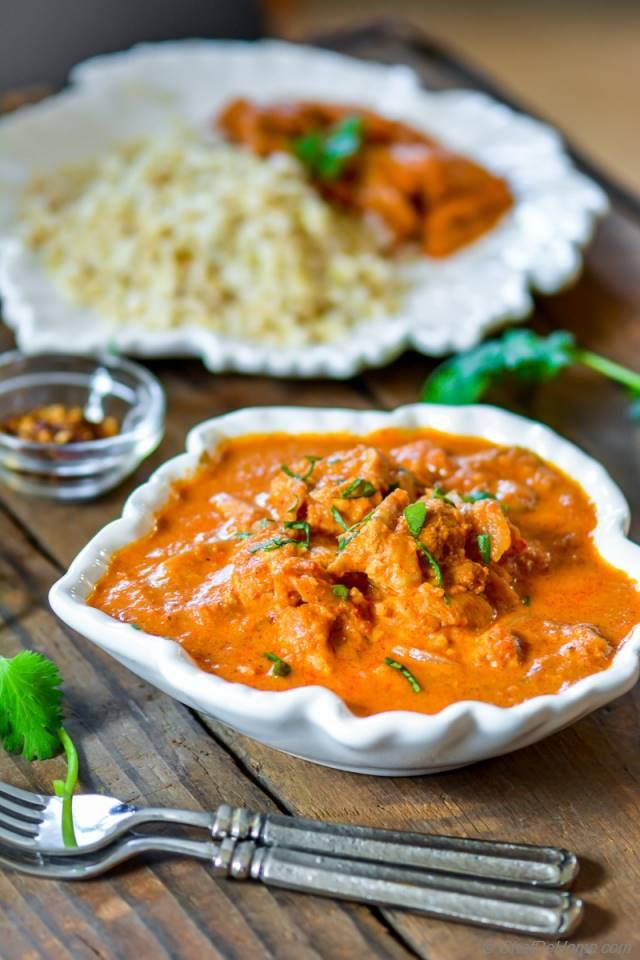 Restaurant style easy indian butter chicken slow cooker chefdehome 2