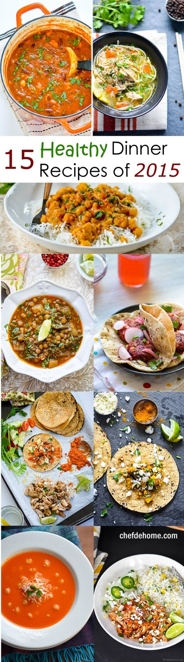 15 Top Healthy Dinner Recipes for New Year