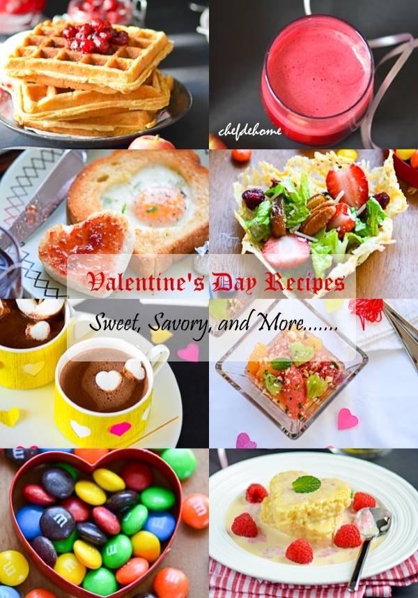 20 sweet and savory valentine's day recipes meals | chefdehome, Ideas