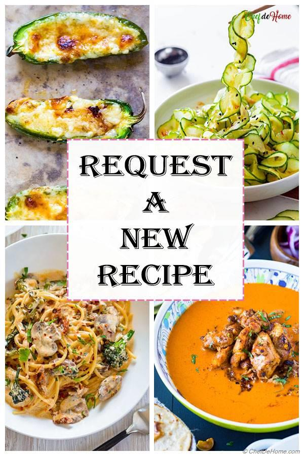 Request A Recipe