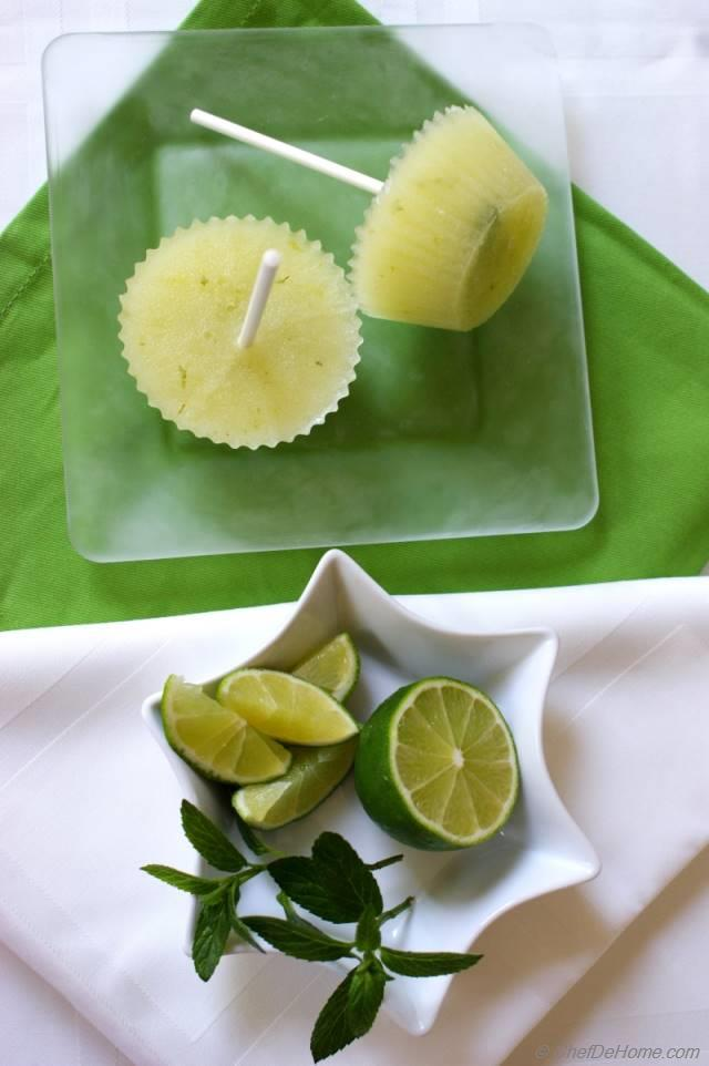 Green Ice Pops, Yes Green Recipes — Dishmaps