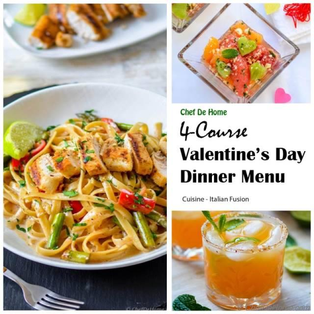 Valentine S Day Dinner Dinner For Two Ideas Chefdehome Com