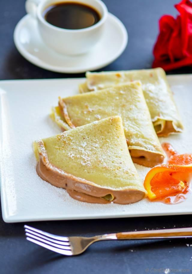 how to make simple sweet crepes