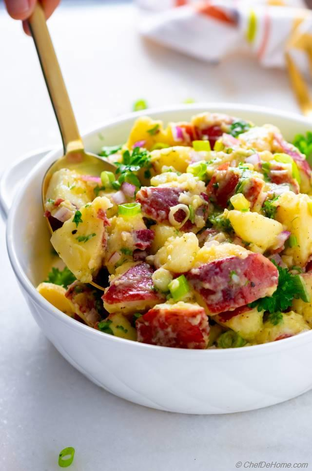 Potluck Potato Salad Recipes