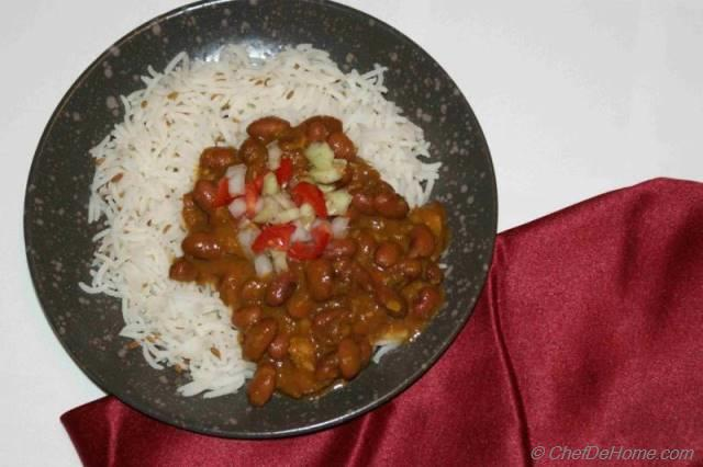 Red Kidney Bean Curry Recipe | ChefDeHome.com