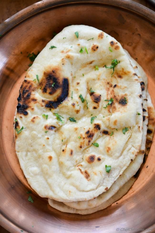 Homemade Indian Butter Naan Recipe Chefdehome Com